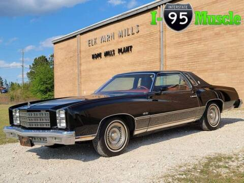 1977 Chevrolet Monte Carlo for sale at I-95 Muscle in Hope Mills NC