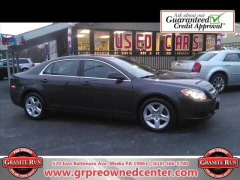 2011 Chevrolet Malibu for sale at GRANITE RUN PRE OWNED CAR AND TRUCK OUTLET in Media PA