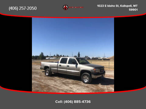 2001 GMC Sierra 2500HD for sale at Auto Solutions in Kalispell MT