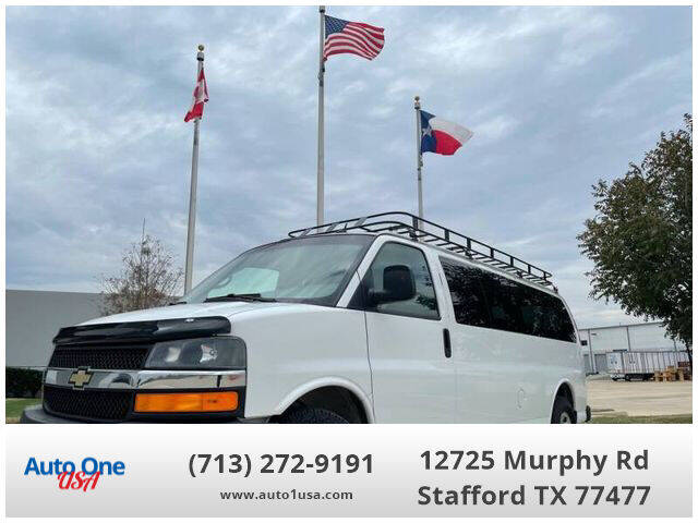 2012 Chevrolet Express Passenger for sale at Auto One USA in Stafford TX