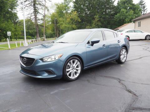 2016 Mazda MAZDA6 for sale at Patriot Motors in Cortland OH