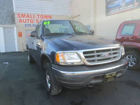 2003 Ford F-150 for sale at Small Town Auto Sales in Hazleton PA