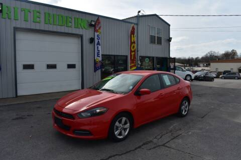 2016 Dodge Dart for sale at Rite Ride Inc 2 in Shelbyville TN