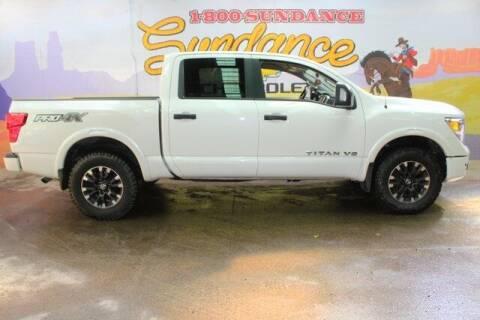 2018 Nissan Titan for sale at Sundance Chevrolet in Grand Ledge MI
