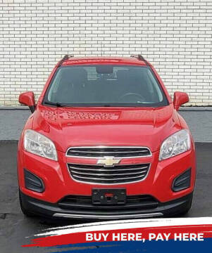 2016 Chevrolet Trax for sale at 599 Drives in Runnemede NJ