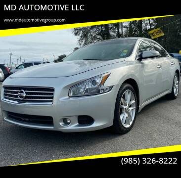 2009 Nissan Maxima for sale at MD AUTOMOTIVE LLC in Slidell LA