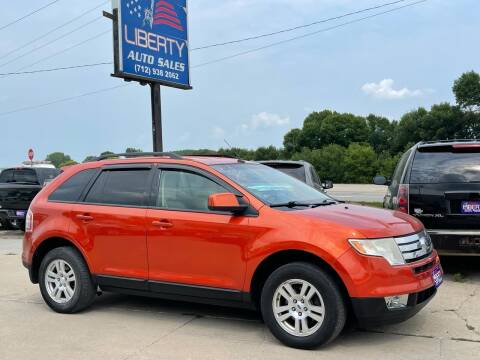 2008 Ford Edge for sale at Liberty Auto Sales in Merrill IA