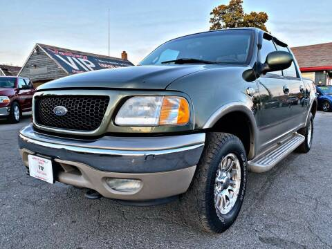 2001 Ford F-150 for sale at Valley VIP Auto Sales LLC in Spokane Valley WA
