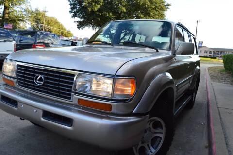 1997 Lexus LX 450 for sale at E-Auto Groups in Dallas TX