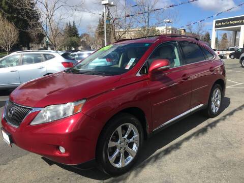 2010 Lexus RX 350 for sale at Autos Wholesale in Hayward CA