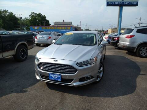2013 Ford Fusion for sale at Eagle Motors in Hamilton OH