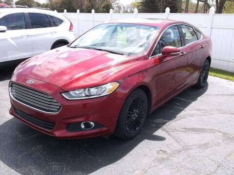 2016 Ford Fusion for sale at Victorian City Car Port INC in Manistee MI