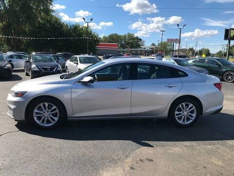 2018 Chevrolet Malibu for sale at Car Zone in Otsego MI