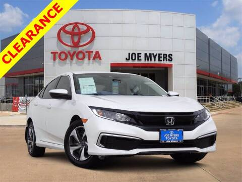 2019 Honda Civic for sale at Joe Myers Toyota PreOwned in Houston TX