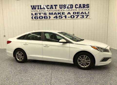 2016 Hyundai Sonata for sale at Wildcat Used Cars in Somerset KY