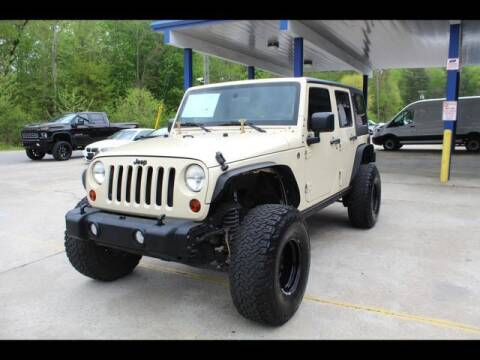 2011 Jeep Wrangler Unlimited for sale at Inline Auto Sales in Fuquay Varina NC