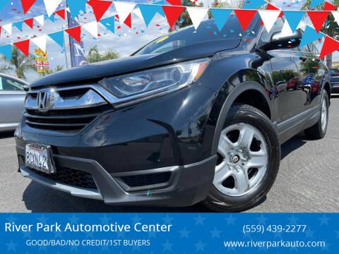 2018 Honda CR-V for sale at River Park Automotive Center in Fresno CA