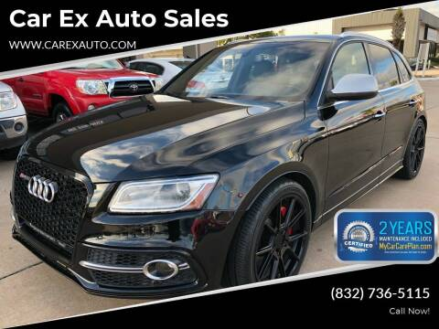 2015 Audi SQ5 for sale at Car Ex Auto Sales in Houston TX
