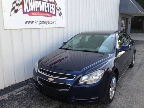 2010 Chevrolet Malibu for sale at Team Knipmeyer in Beardstown IL