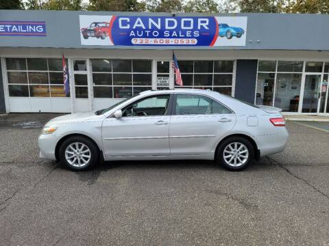 2011 Toyota Camry for sale at CANDOR INC in Toms River NJ