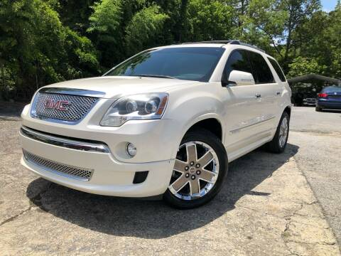 2011 GMC Acadia for sale at Atlas Auto Sales in Smyrna GA