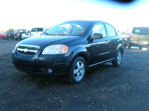 2008 Chevrolet Aveo for sale at HORSEPOWER AUTO BROKERS in Fort Collins CO