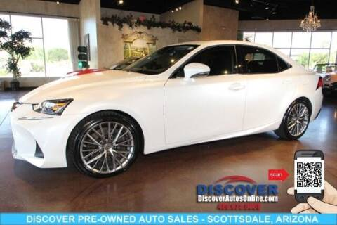 2018 Lexus IS 300 for sale at Discover Pre-Owned Auto Sales in Scottsdale AZ