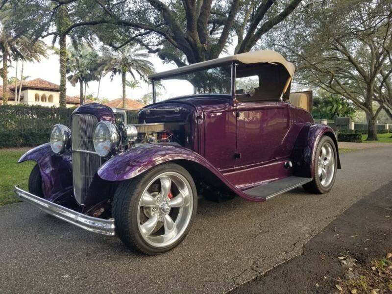 1930 Ford Model A for sale at Sailfish Auto Group in Hollywood FL