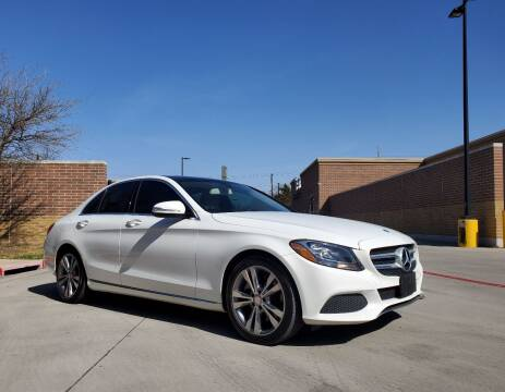 2015 Mercedes-Benz C-Class for sale at International Auto Sales in Garland TX