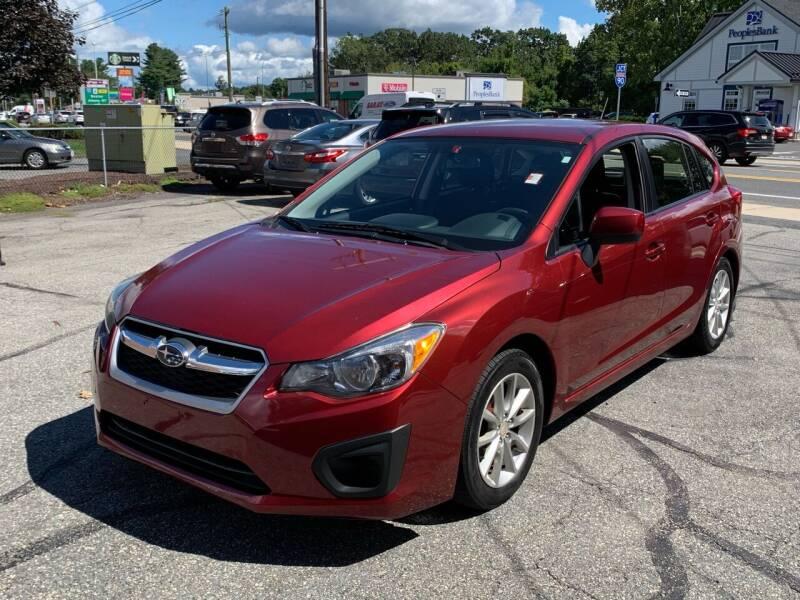 2014 Subaru Impreza for sale at Ludlow Auto Sales in Ludlow MA