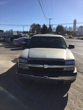 2003 Chevrolet Silverado 1500 for sale at Stewart's Motor Sales in Byesville OH