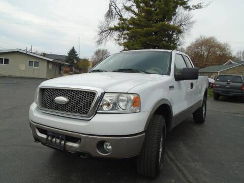 2006 Ford F-150 for sale at NORTHLAND AUTO SALES in Dale WI
