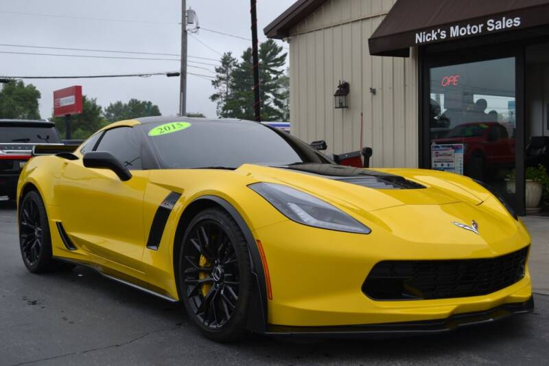 2015 Chevrolet Corvette for sale at Nick's Motor Sales LLC in Kalkaska MI