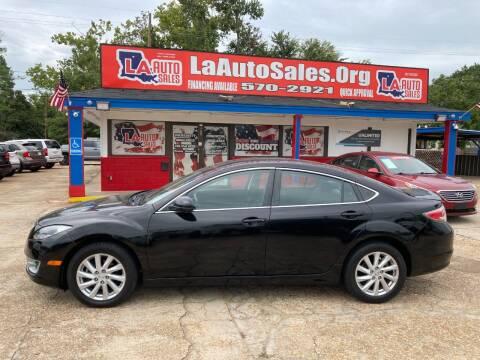 2012 Mazda MAZDA6 for sale at LA Auto Sales in Monroe LA