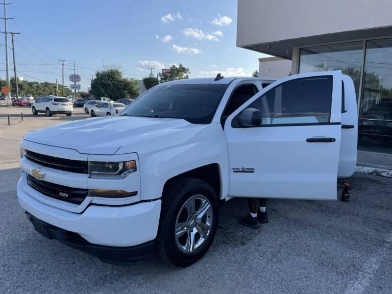 2018 Chevrolet Silverado 1500 for sale at Flash Auto Sales in Garland TX