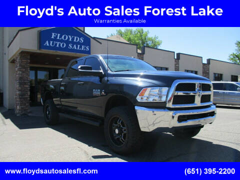 2016 RAM Ram Pickup 2500 for sale at Floyd's Auto Sales Forest Lake in Forest Lake MN