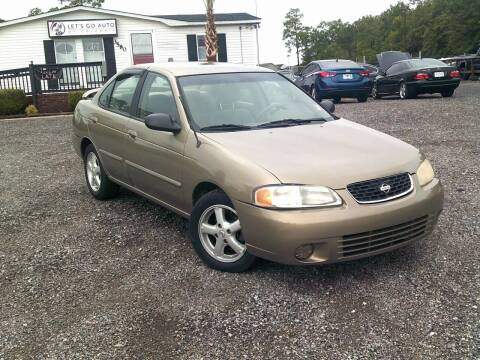 2002 Nissan Sentra for sale at Let's Go Auto Of Columbia in West Columbia SC