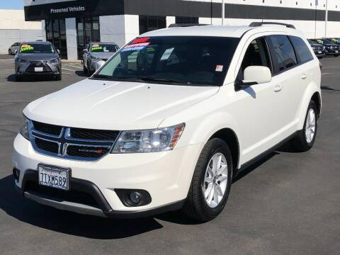 2016 Dodge Journey for sale at Dow Lewis Motors in Yuba City CA
