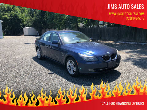 2009 BMW 5 Series for sale at Jims Auto Sales in Lakehurst NJ