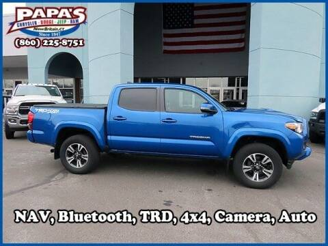 2018 Toyota Tacoma for sale at Papas Chrysler Dodge Jeep Ram in New Britain CT