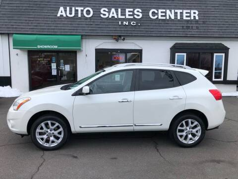 2013 Nissan Rogue for sale at Auto Sales Center Inc in Holyoke MA