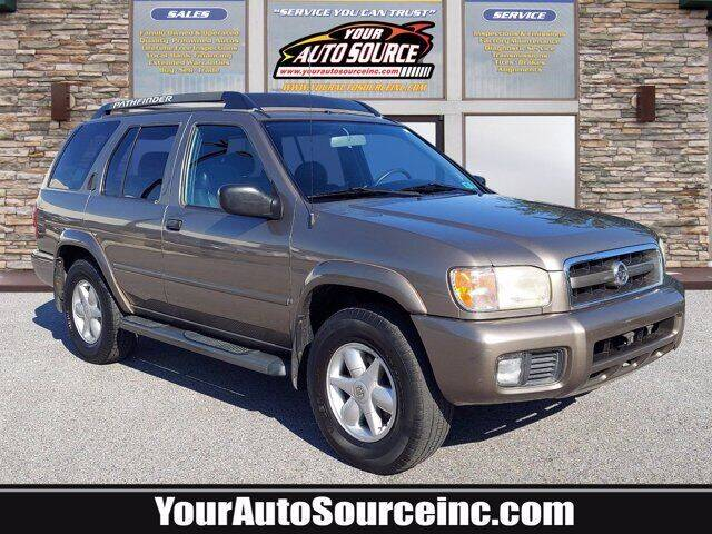 2002 Nissan Pathfinder for sale at Your Auto Source in York PA