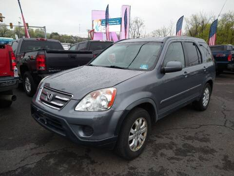 2006 Honda CR-V for sale at P J McCafferty Inc in Langhorne PA