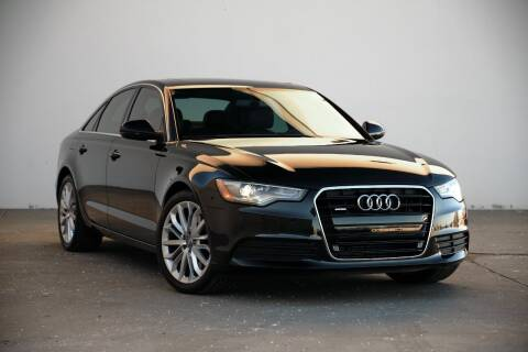 2014 Audi A6 for sale at BAVARIAN AUTOGROUP LLC in Kansas City MO