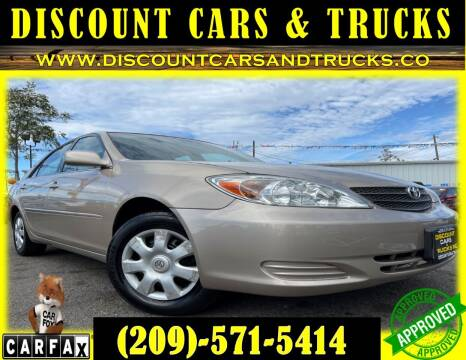2004 Toyota Camry for sale at Discount Cars & Trucks in Modesto CA