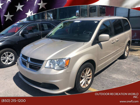 2015 Dodge Grand Caravan for sale at Outdoor Recreation World Inc. in Panama City FL