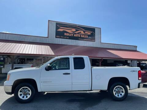 2009 GMC Sierra 1500 for sale at Ridley Auto Sales, Inc. in White Pine TN