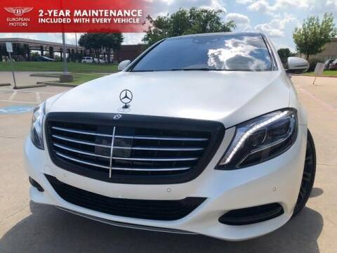 2017 Mercedes-Benz S-Class for sale at European Motors Inc in Plano TX