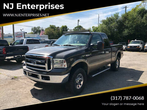 2005 Ford F-250 Super Duty for sale at NJ Enterprises in Indianapolis IN