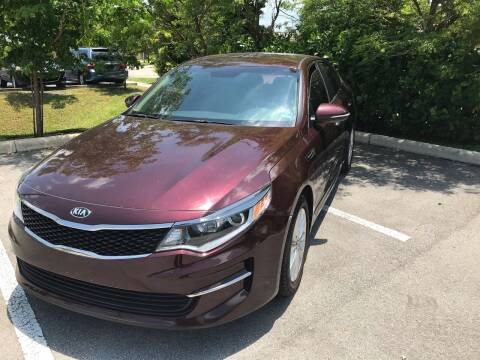 2016 Kia Optima for sale at CARSTRADA in Hollywood FL